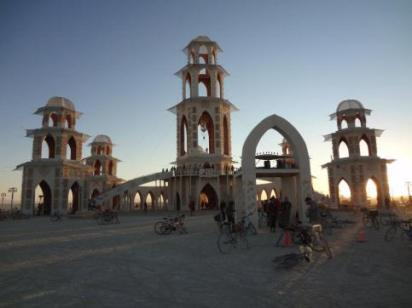 Burning Man Festival in Black Rock City, Nevada