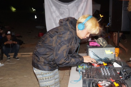 Dj at Korea Burn