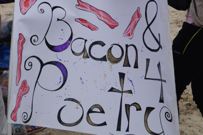Bacon for Poetry Theme Camp at Korea Burn 2012